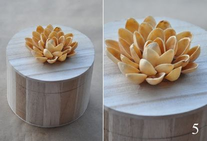 You aren't going to believe what  you can make using Pistachio nut shells! T...