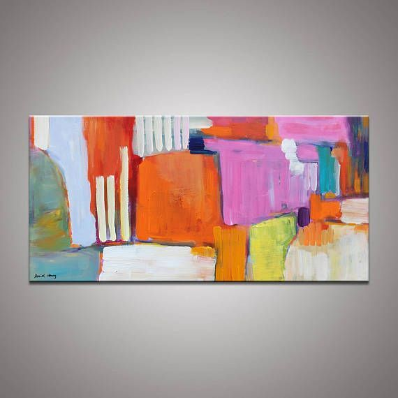 Abstract Painting Contemporary Art Abstract Canvas Art Large Oil Painting ...