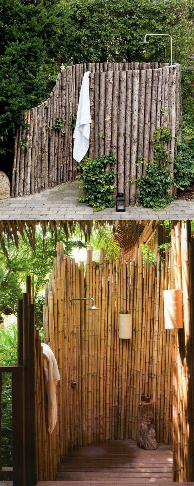 32 beautiful DIY outdoor ideas for the shower (for the best summer ever ...