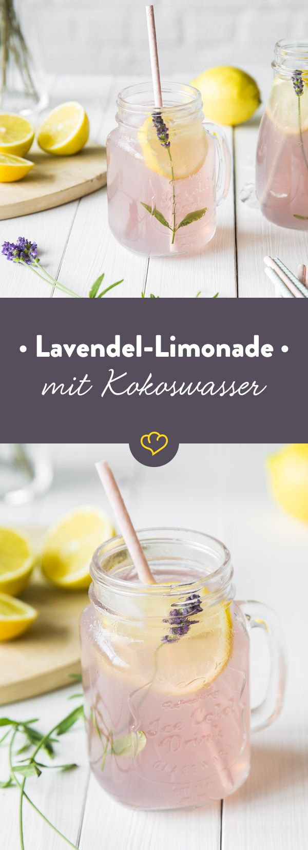 The origin of this extraordinary lemonade of lavender flowers and coconut ...