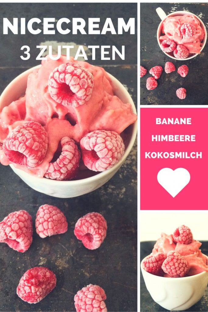 This delicious sugar-free Nicecream is vegan and ready in 5 minutes! nomnom