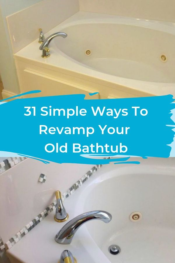 You and your rubber ducky are going to love these bathtub ideas. #diy #bathroom ...