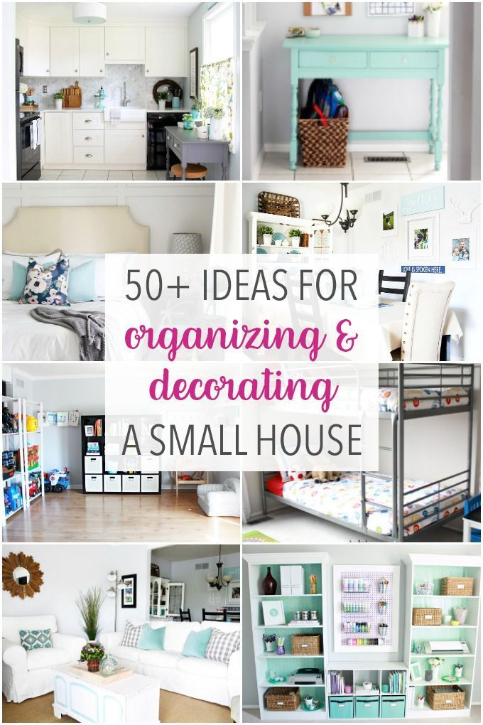 Get ideas for organizing and decorating a small house, townhouse, or condo in th...