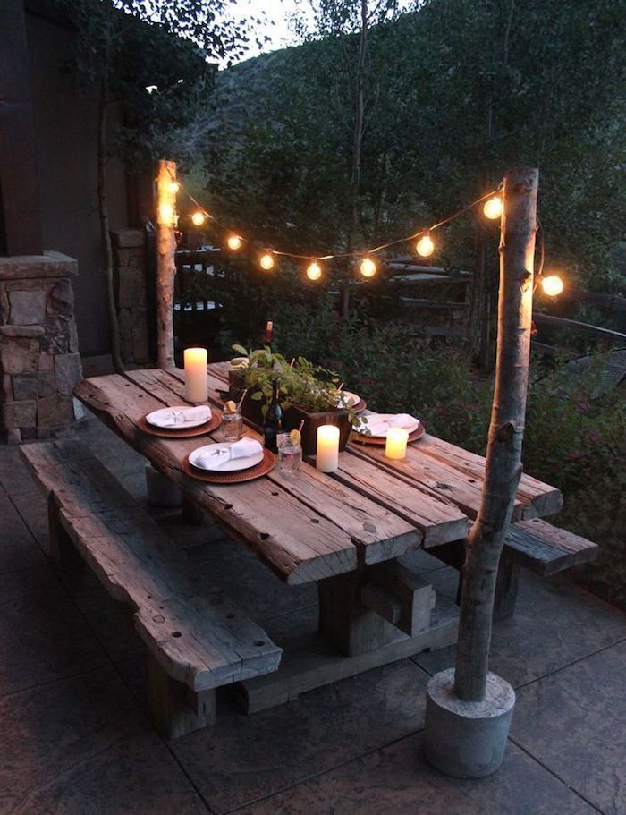 Patio Lighting #diy Plus - #DIY #Beach Lighting - Pictures Clubs