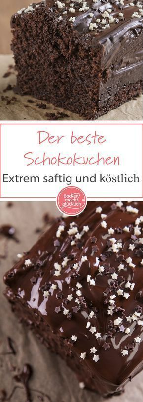 Simple chocolate cake recipe for a wonderfully juicy chocolate cake. O...