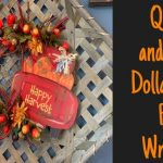 Dollar Tree DIY/ Fall Wreath DIY/ Ultimate Fall Wreath/ Fall Decor - YouTube