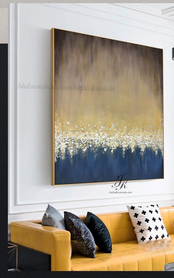 Abstract Painting On Canvas Large Wall Art Textured Art   Etsy