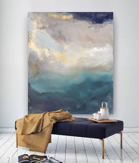 Saint Helena | From a unique collection of abstract paintings at www.1stdibs.com...
