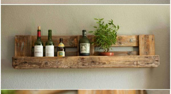 Rustic Shelf Pallet Cabinets & Pallet Hangers Source by denisbirchall