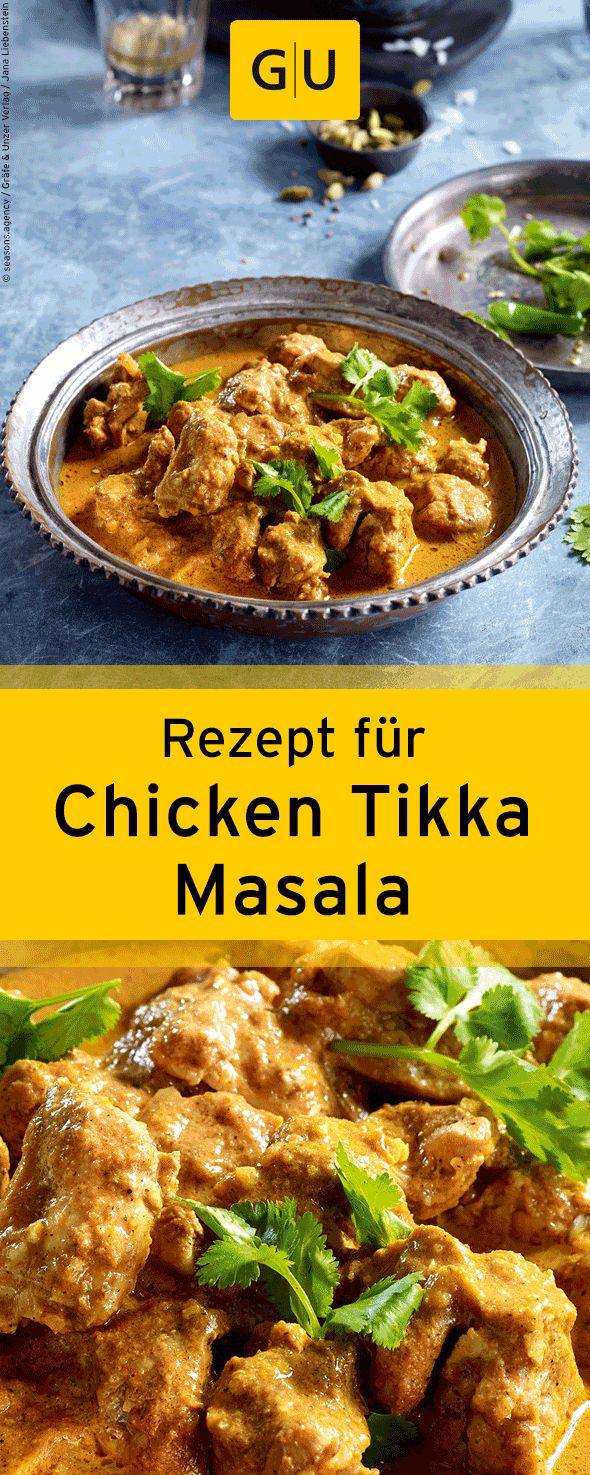 "Recipe for Chicken Tikka Masala from the book ""Currys"". ⎜GU"