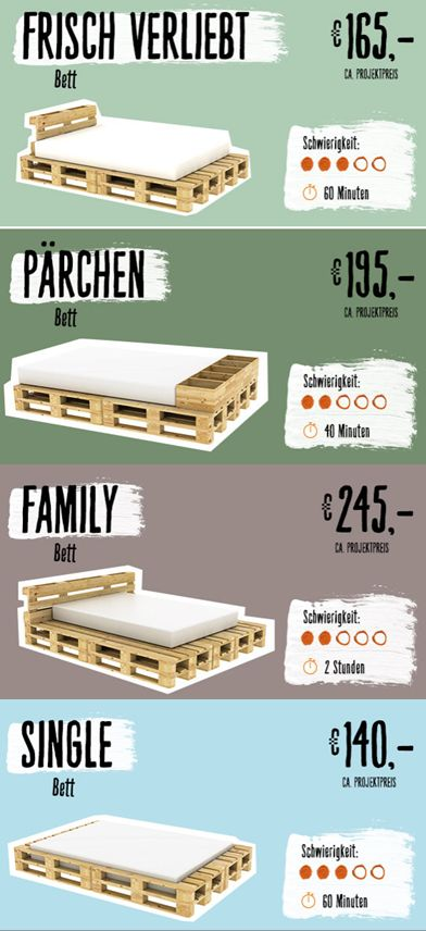 Also on pallets it can sleep well! creative ideas for your new mo ...