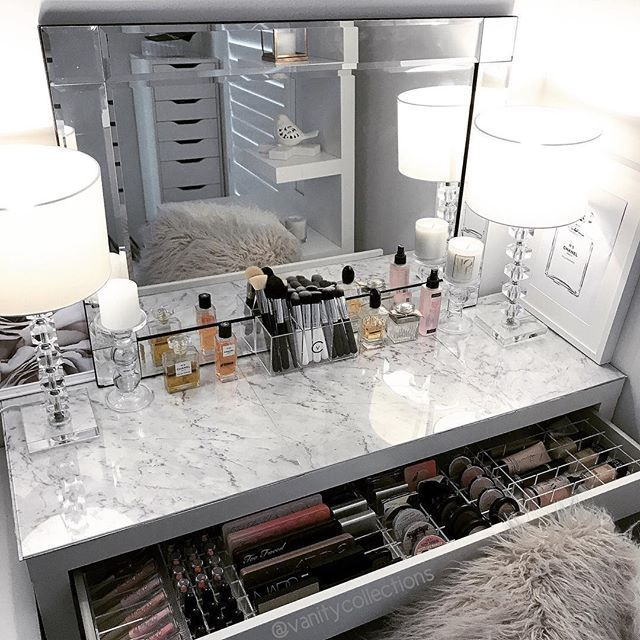 Vanity Makeup Table von Target, Makeup Vanity Table Ikea, Makeup Vanities mit .....