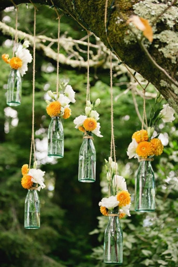 50 ideas for table decoration garden party among friends - examples that will take you further ...