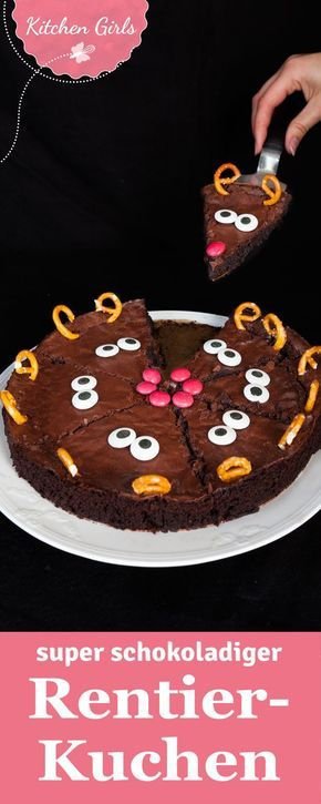 This cake is not only super cute, but also juicy chocolaty. We ...