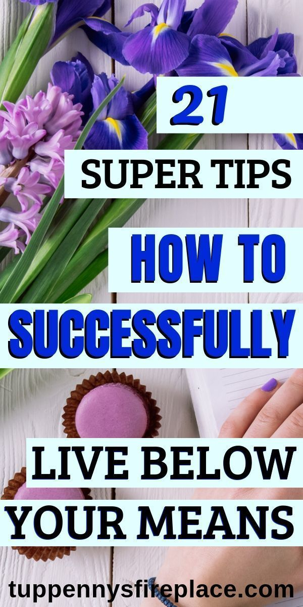 I am really loving these great tips on how to successfully live within your mean...