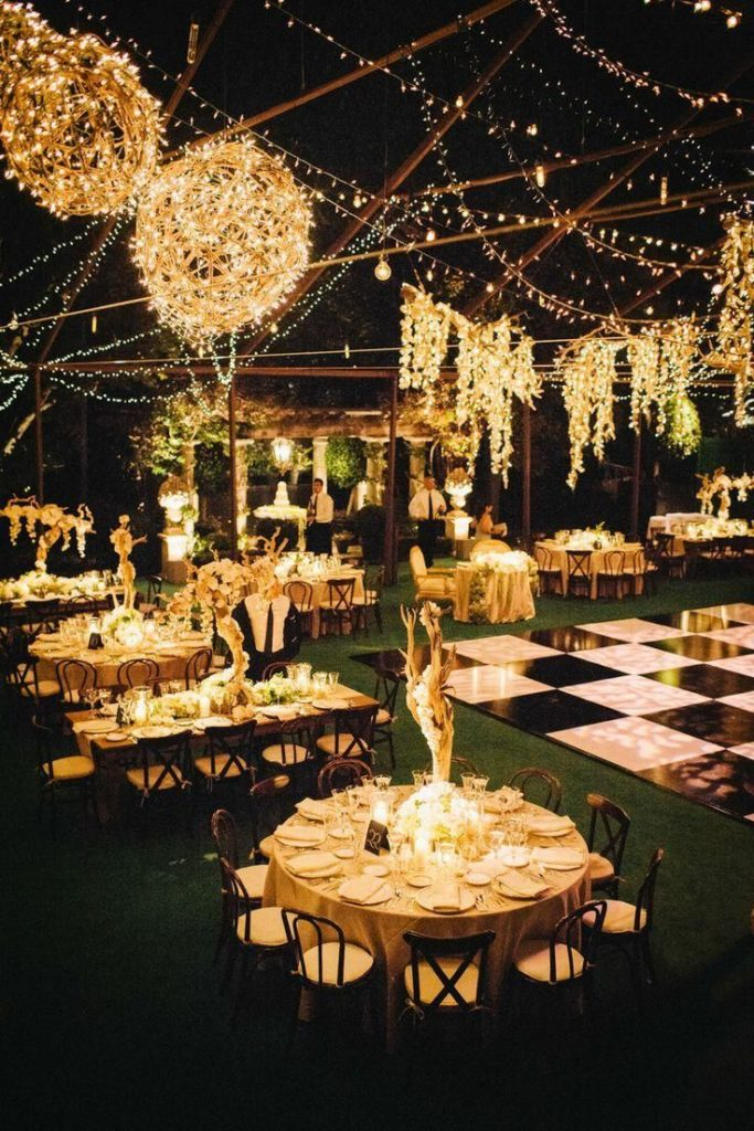 Breathtaking is this wedding garden. Are you missing the words too? The Gesta ...
