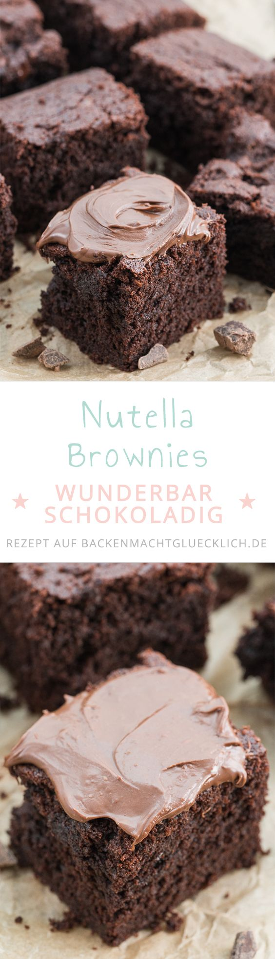 The perfect Nutella Brownie Recipe: simple, fast and delicious ...