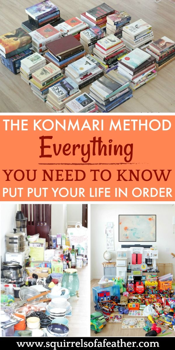 Must-read post on the KonMari method of decluttering. Love all the do's and don'...