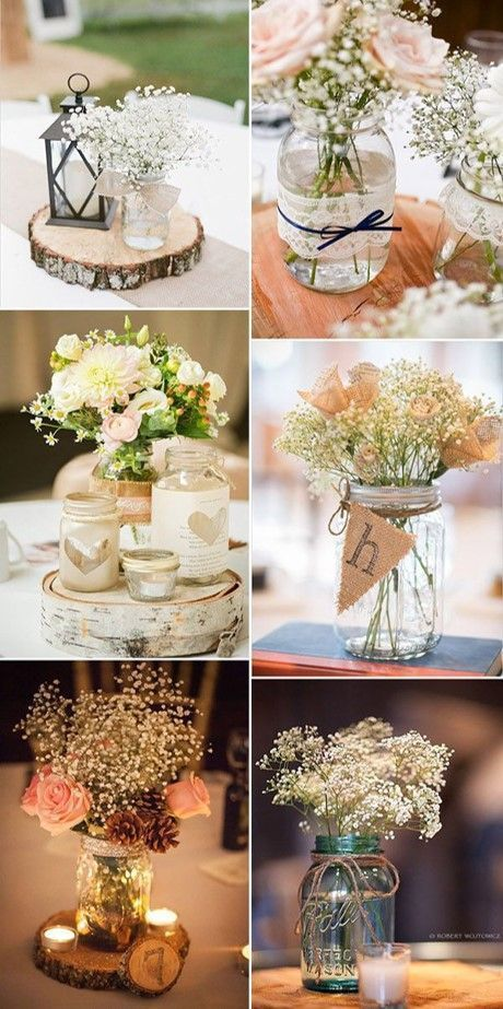 BODA-ECONOMICA IDEAS BUDGET DIY TABLE CENTERS, #budget #economica # ideas #tablez ...