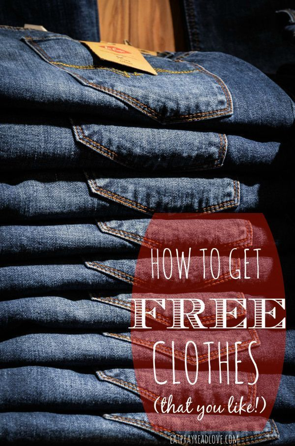 How to Get Free Clothes I love cheap clothes, but even more, I've loved lear...