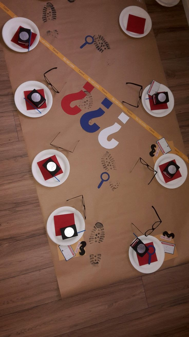Detective Party Thank you for this great idea for the children's birthday party! Are we going to ...