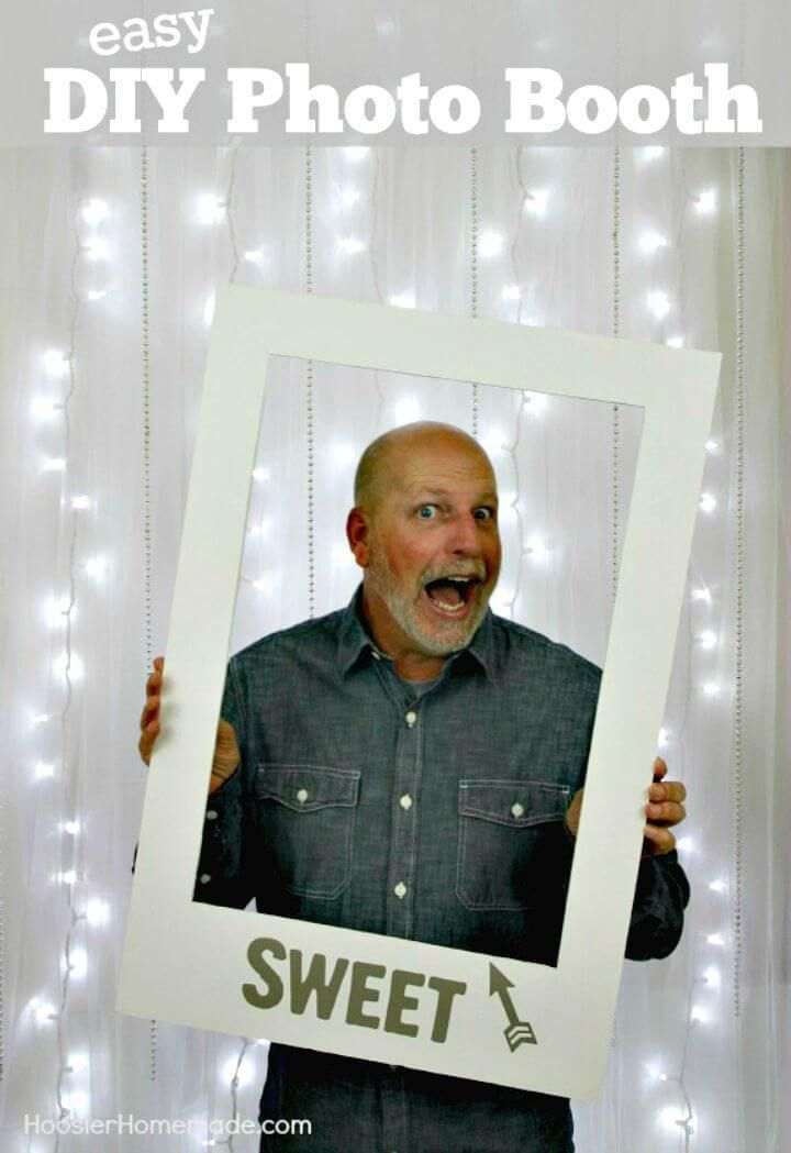 15 Simple DIY Photo Booth Ideas For Your Next Party | Tutorials