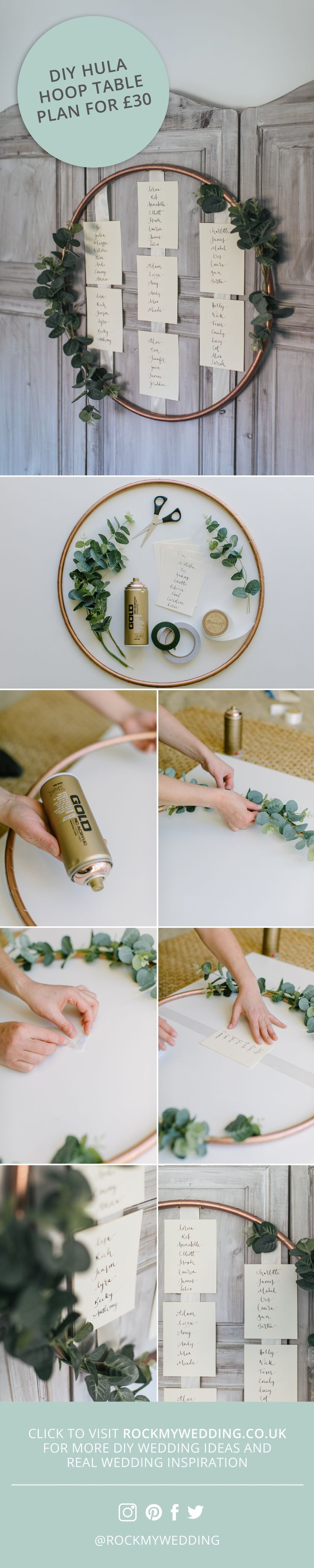 DIY Hula Hoop Table Plan for £30!