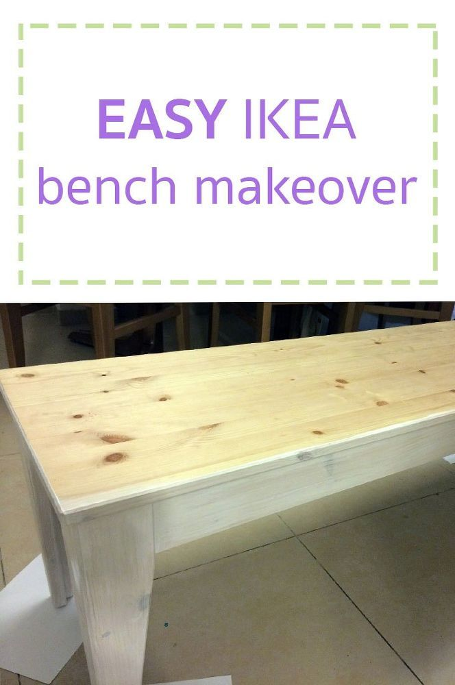 This is so simple! I love seeing IKEA furniture get transformed!