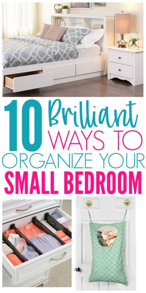 10 Amazon Finds That Will Organize Your Small Bedroom - Organization Obsesssed