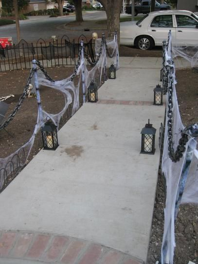 Awesome outdoor Halloween party ideas 46