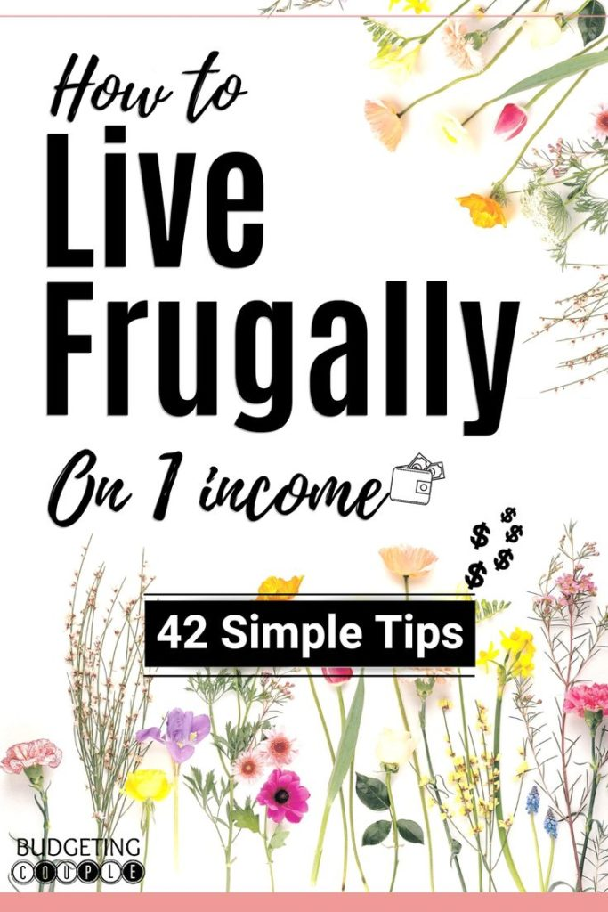 How To Live Frugally On 1 Income- 42 Tips