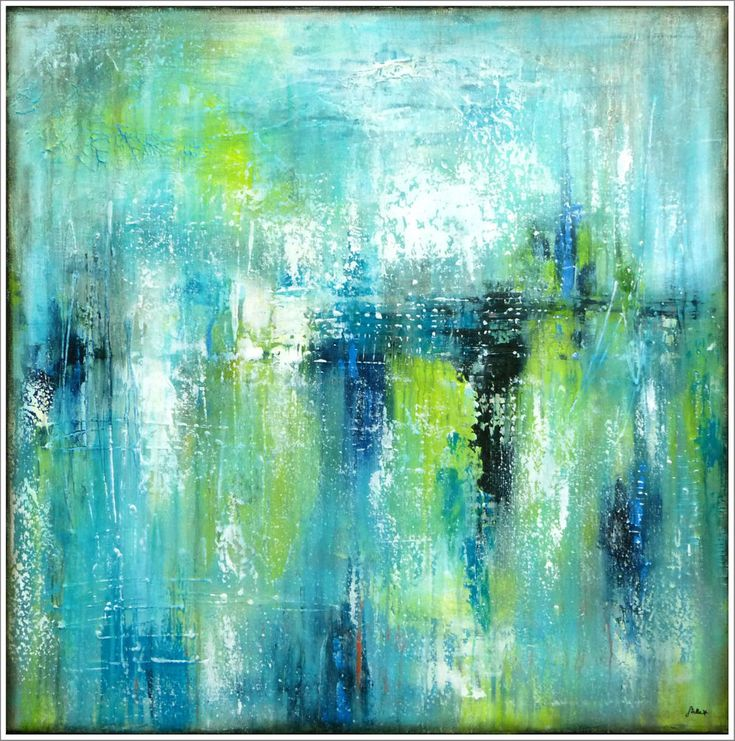 PAINTING Abstract STELLA HETTNER Picture ORIGINAL Art Canvas PAINTING Acrylic XL ...