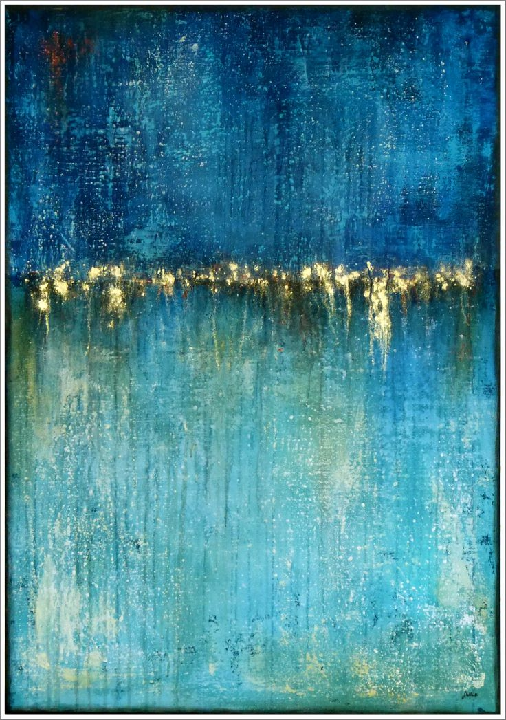 STELLA HETTNER Picture ORIGINAL ART PAINTING modern PAINTING abstract Acrylic NEW from ...