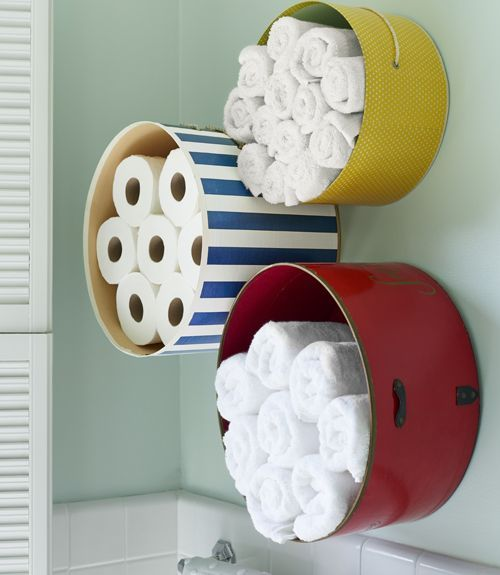 18 DIY towel storage ideas for easy bathroom organization ...