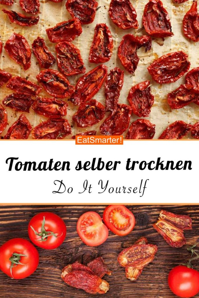 Dry your own tomatoes - so you can just taste dried tomatoes yourself ...