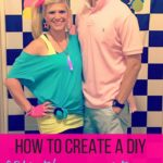 How to create a DIY 80's theme costume on a budget. 80's theme 30th birt...
