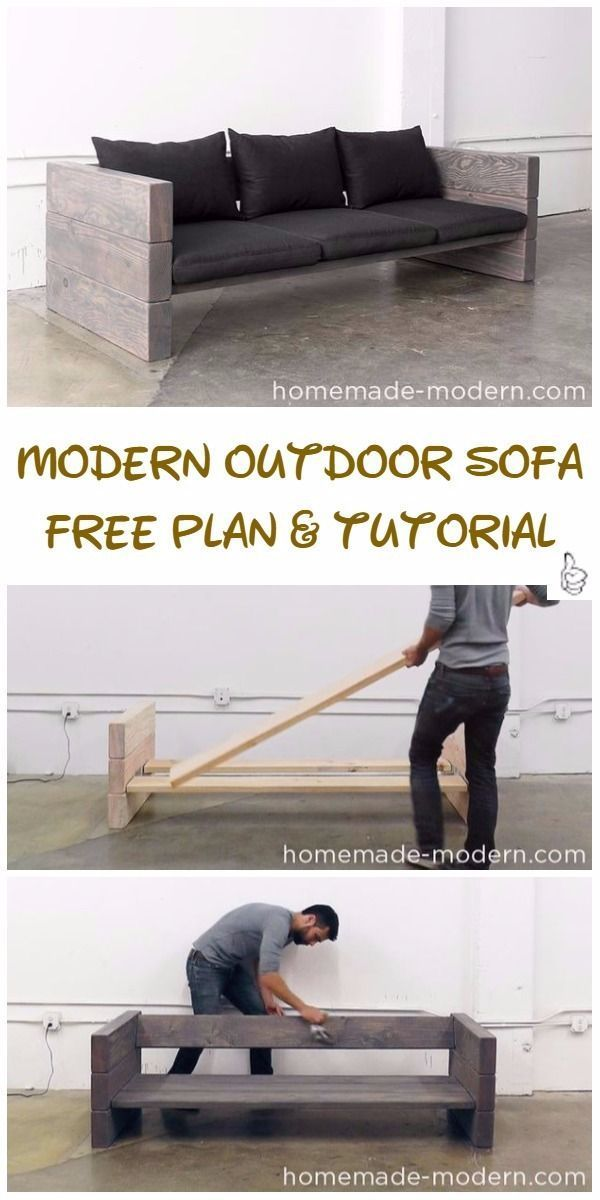 DIY outdoor seating projects tutorials & free plans #diyprojects # free ...