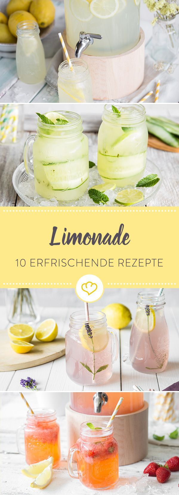 Great soda-love! Homemade lemonades are very trendy. With these 10 re ...