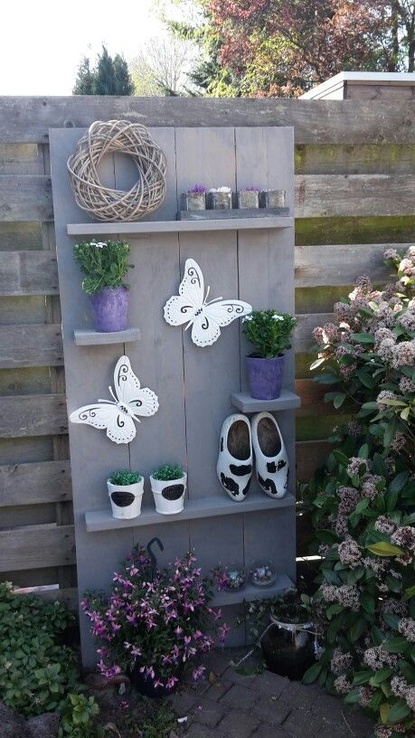 Wall shelf for outdoor - garden and something - # Outside # for #garden #and #Wa ...