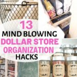 Need an organized home on budget. These dollar store organization ides will help...