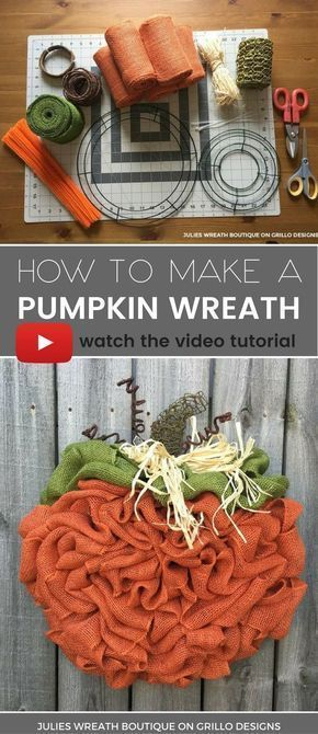 Julie Wreath boutique shares a step by step tutorial on how to make the perfect ...