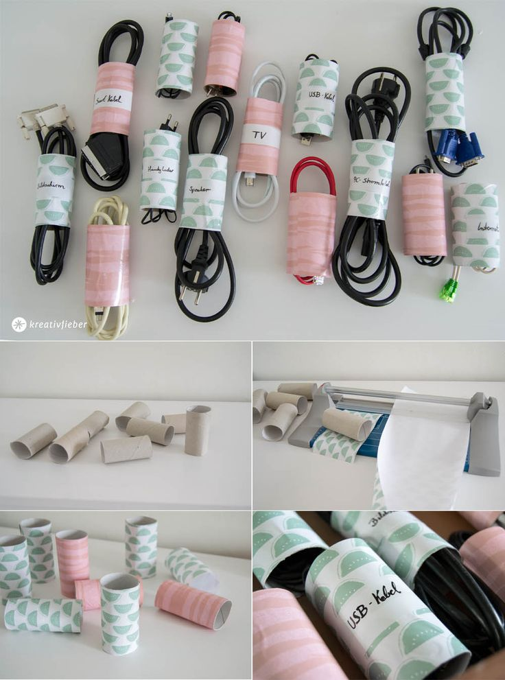 5 tips for better cable order - Order from toilet paper rolls