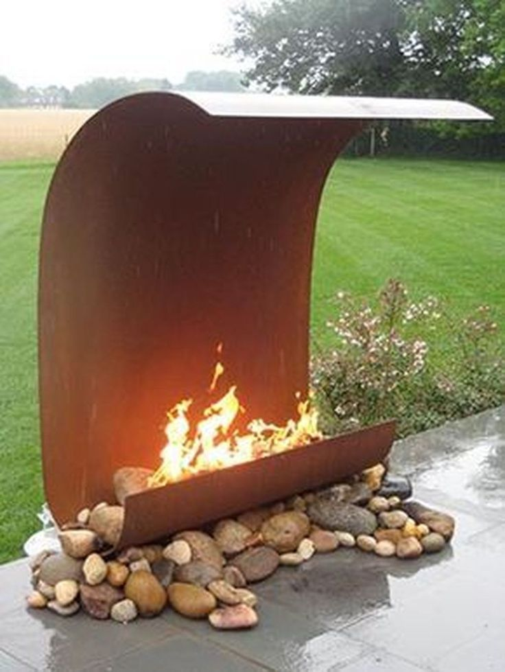 20+ Inspiring Ideas for Outdoor Fireplaces #diyideas #fireplaces #from ...