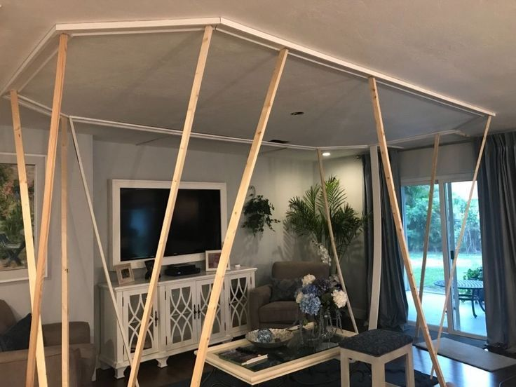 Structurally I couldn't raise the 8 foot ceiling. Until I decided to install C...