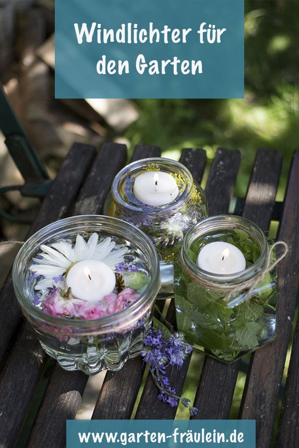 Wind lanterns DIY for garden and balcony. With these lanterns will be a summer ...