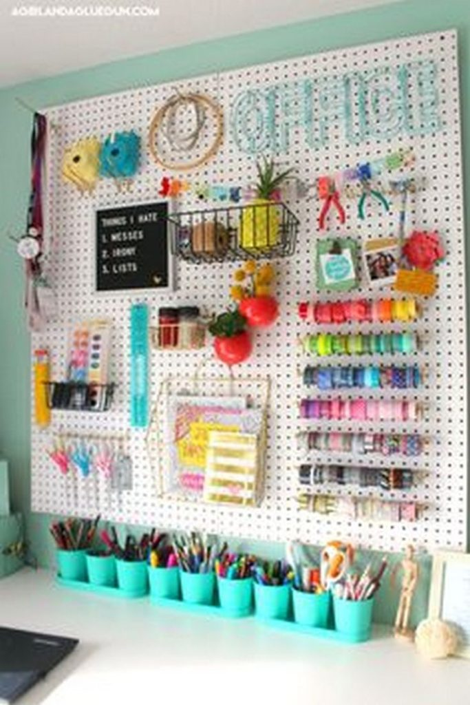 Apply these great ideas for creating a tool organization, ...