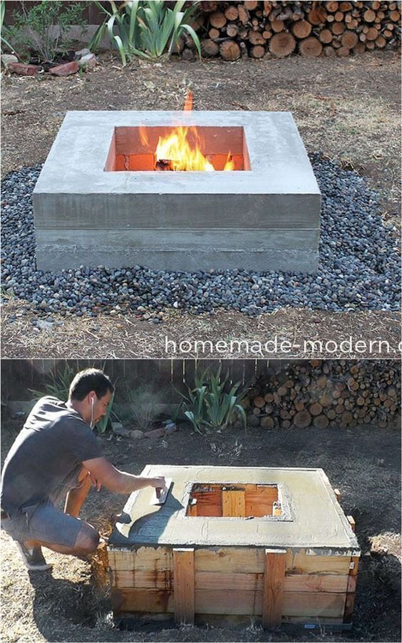 The 24 best ideas for the outdoor fire pit, including: how to make wood fire ...