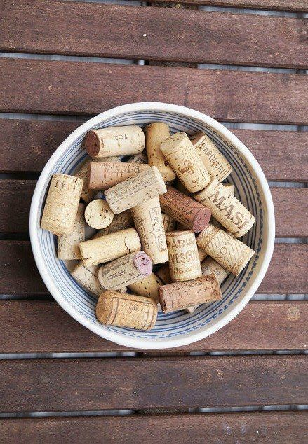 Don't throw those leftover corks away, copy one of these ideas instead!  Use...