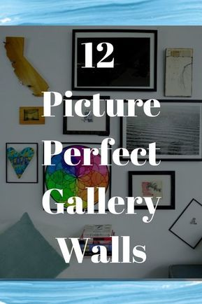 Gallery walls are the best way to show off your eclectic style. Give your wall a...