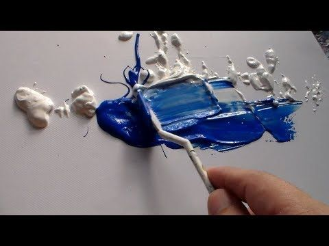 """Abstract Art Demo / Abstract Painting / """"R-37 by Roxer Vidal"""" - YouTube"""